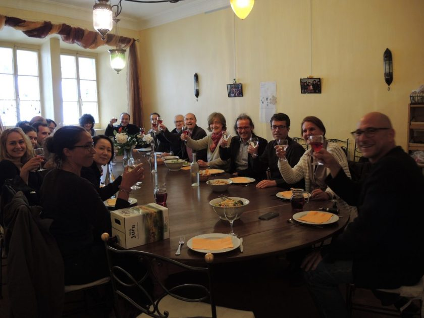 repas au Relais des moines