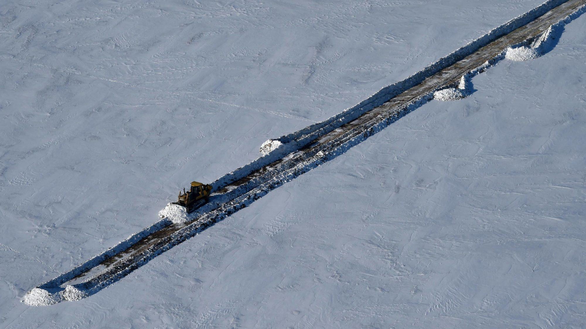 Artic rail