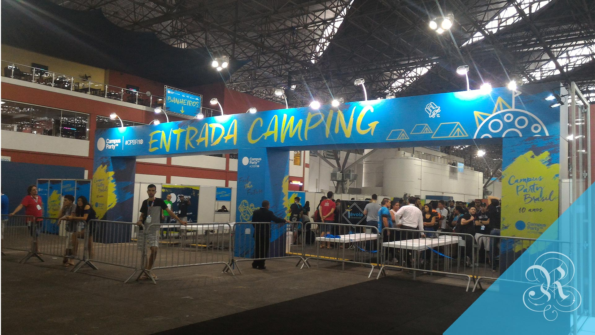 Primeiro dia na Campus Party 2017
