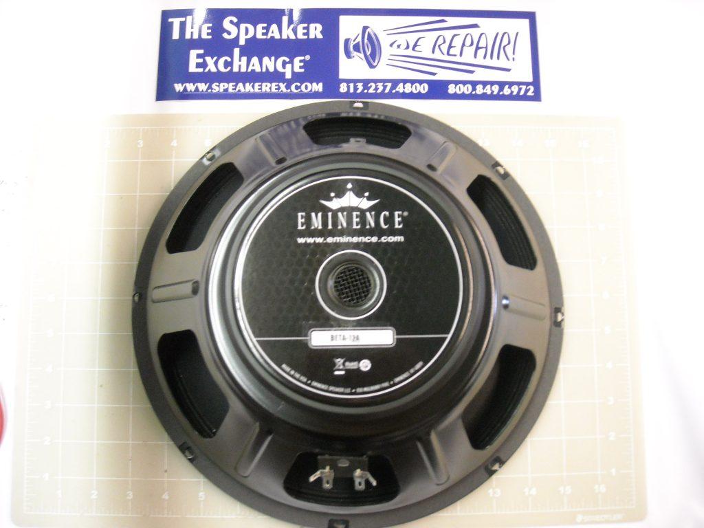 eminence 12 beta 12a woofer speaker exchange. Black Bedroom Furniture Sets. Home Design Ideas