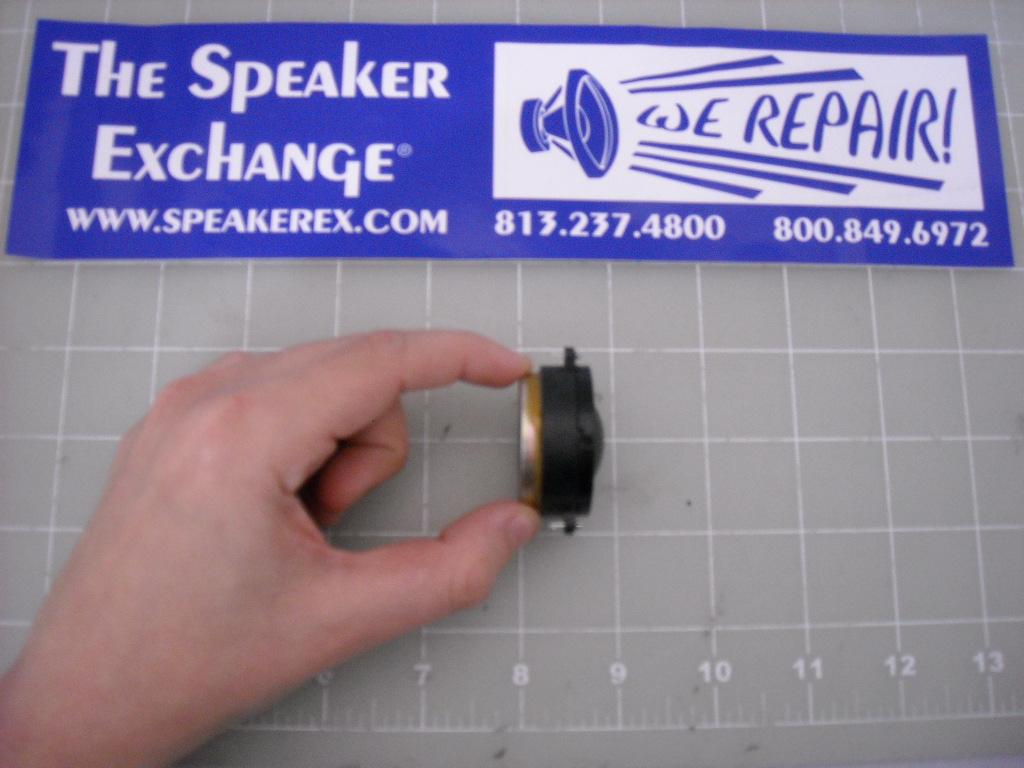 Infinity Prelude Pfr H25 Tweeter 902 7344 Speaker Exchange