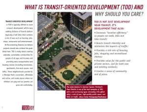 What is Transit-Oriented Development (TOD) and why should you care?