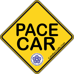 Pace Car Bumper Sticker