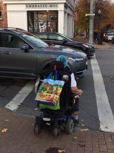 Person using wheelchair (IMAGE: Mark Warner, Flickr)