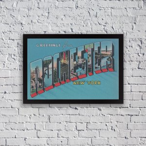 Greetings from Rochester, New York poster