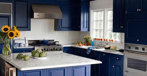 μπλε του αιγαιου κουζινα