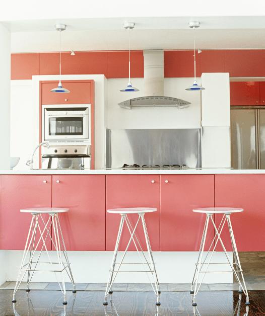 ροζ κουζινα