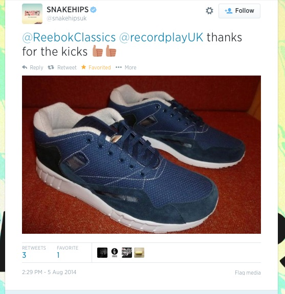 Reebok Seeding Project Completed - Record-Play Influencer Marketing e4ece56df