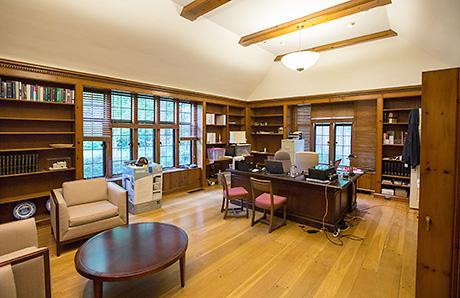 A peek inside the Presidents House renovations  The University Record