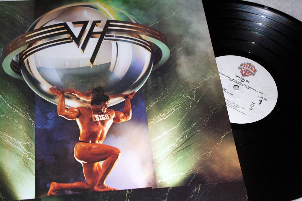 5150 Van Halen Vinyl Atlas Album Cover