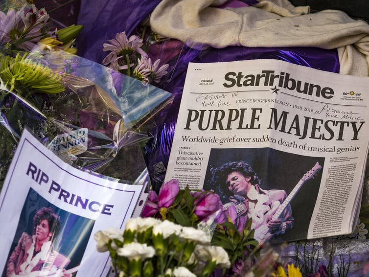 Five Years After His Death, the Purple One Still Reigns