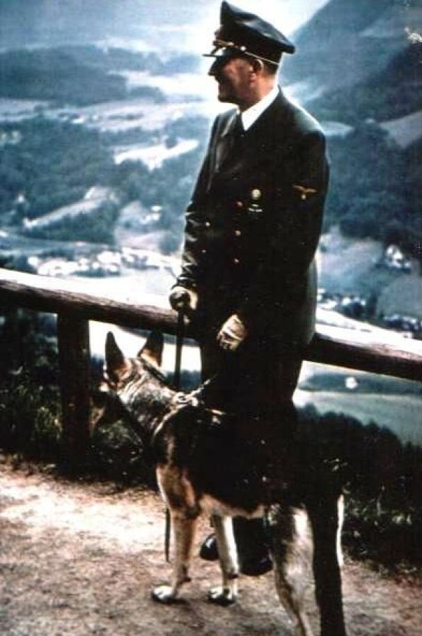 Hitler and His Beloved Dog Blondi (15)