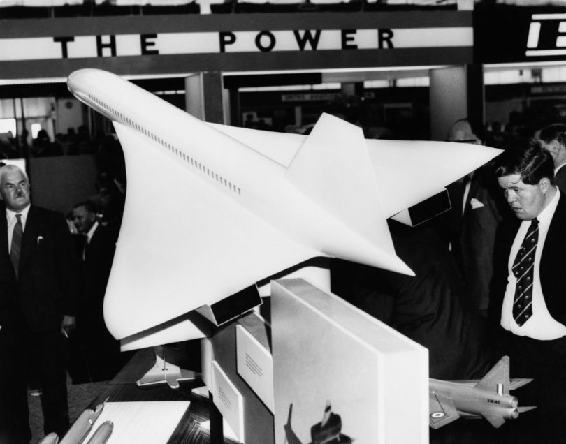 UNITED KINGDOM - SEPTEMBER 09: Farnborough Air Show Exhibition In United Kingdom On September 9Th 1962 (Photo by Keystone-France/Gamma-Keystone via Getty Images)