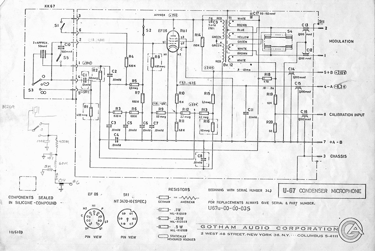 hight resolution of  u67 schematic gotham