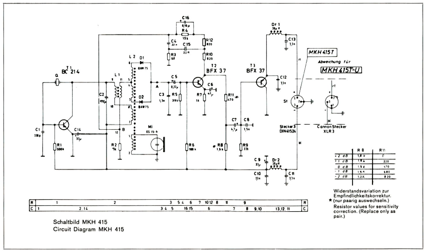 Tube Mic Wiring Diagram