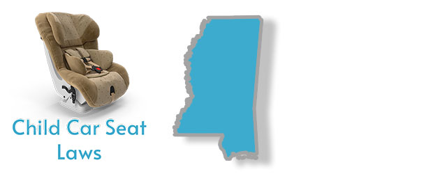 A summary of Child Car Seat Laws in Mississippi