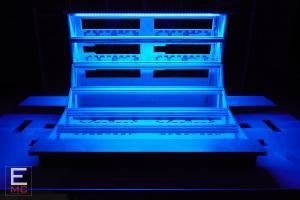 Eurorack Modular Case   18U The Blue