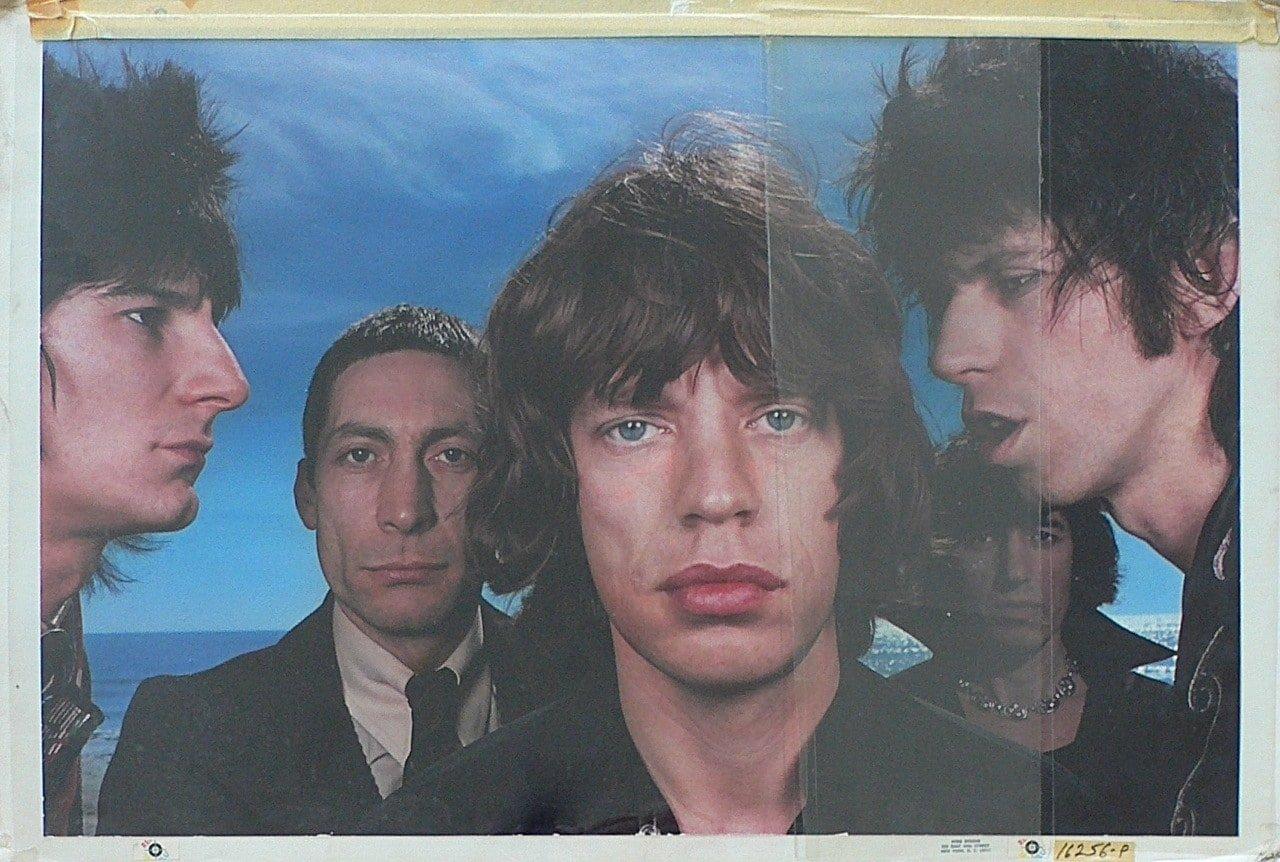 Rolling Stones  Original Black and Blue Album Cover