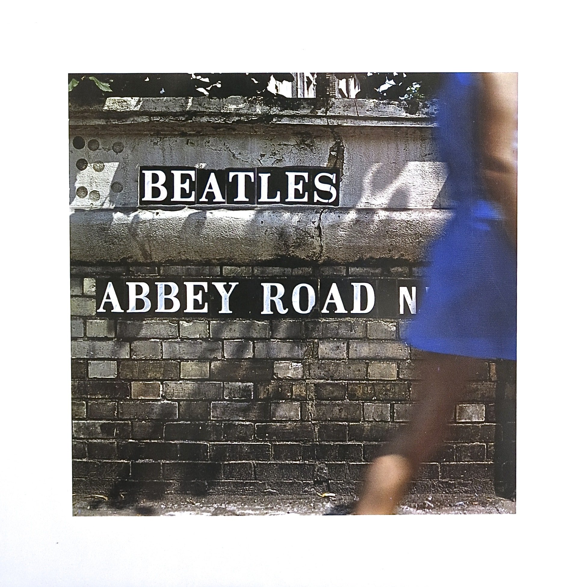 The Beatles  Original Artwork From Abbey Road Album Cover