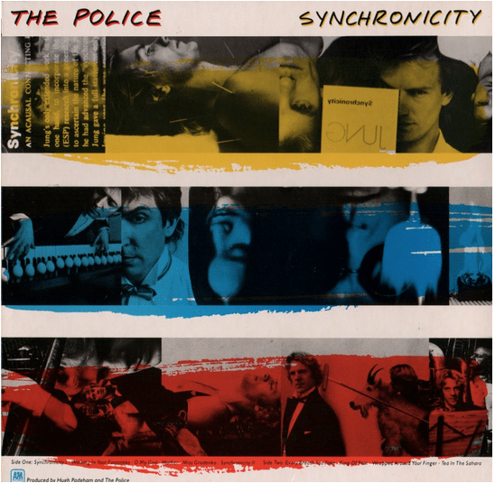 The Police  Original Photograph Used on Synchronicity Album Cover