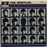 """THE BEATLES 1966 UK STEREO 3rd PRESSING """"A Hard Day's Night"""" LP Near Mint"""