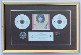 The Doors – Australian Platinum Record Award, Presented to Manager Danny Sugerman