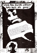 Big in Japan / Manicured Noise – Rare 1978 'Who is Durutti Column' Factory Club Handbill / From Tony Wilson Collection / Pre-Factory Records