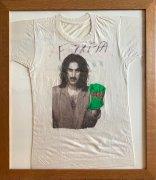 Frank Zappa – 1984 Tour T-Shirt with Huge Autograph, w/Epperson COA, Lifetime Guarantee