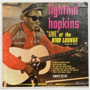 Lightnin' Hopkins –  Bill Wyman (Rolling Stones) Owned 'Live At The Bird Lounge' LP (Artist Owned)