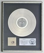 Fleetwood Mac – 'Tusk' 1979 RIAA Platinum Record Award To Former Warner Bros Chairman