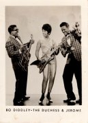Bo Diddley – 1965 Signed Small Publicity Photo