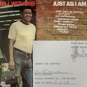 Bill Withers – Signed Recording Contract with Sussex Records, For Debut Album (with 'Ain't No Sunshine,' 'Grandma's Hands')