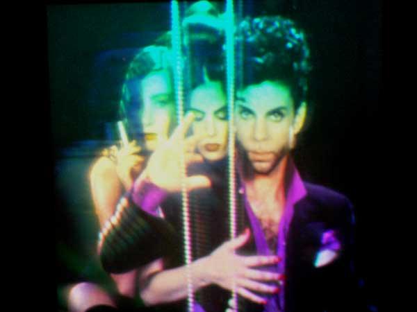 Prince  Prototype Hologram From Diamonds  Pearls Album