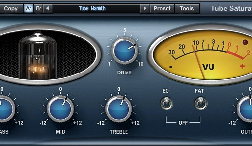 Free Tube Saturation Plugin from Wave Arts
