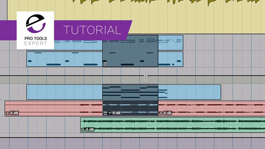 Pro Tools Clip Groups