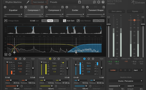 Using compression to help vocals sit in a mix
