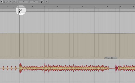 Working with the Tempo Editor in Melodyne studio