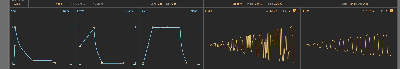 Ableton Live 10: Modulating Wavetables