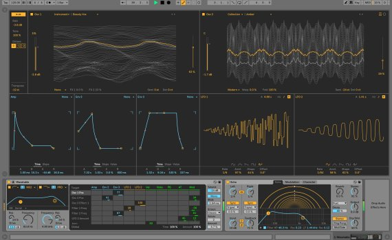Ableton Live 10: Modulating Wavetables
