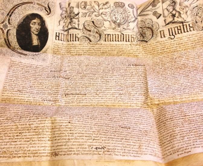Pardon by Charles II of John Gell