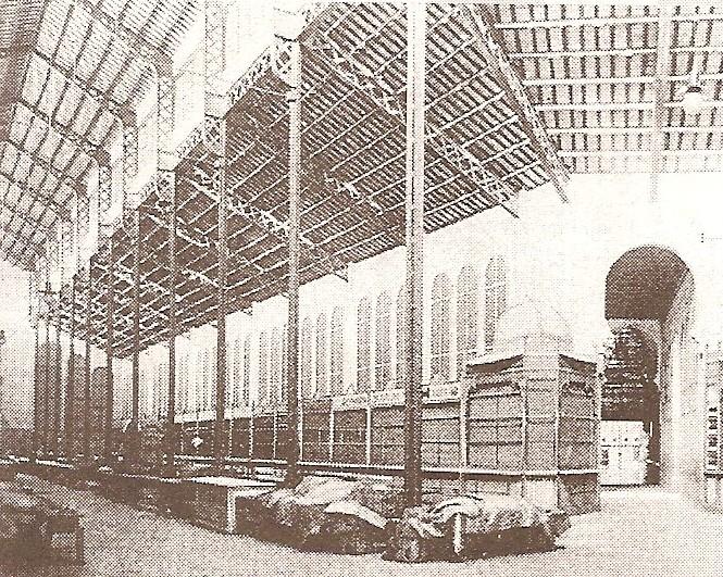 Interior mercat independència 1912