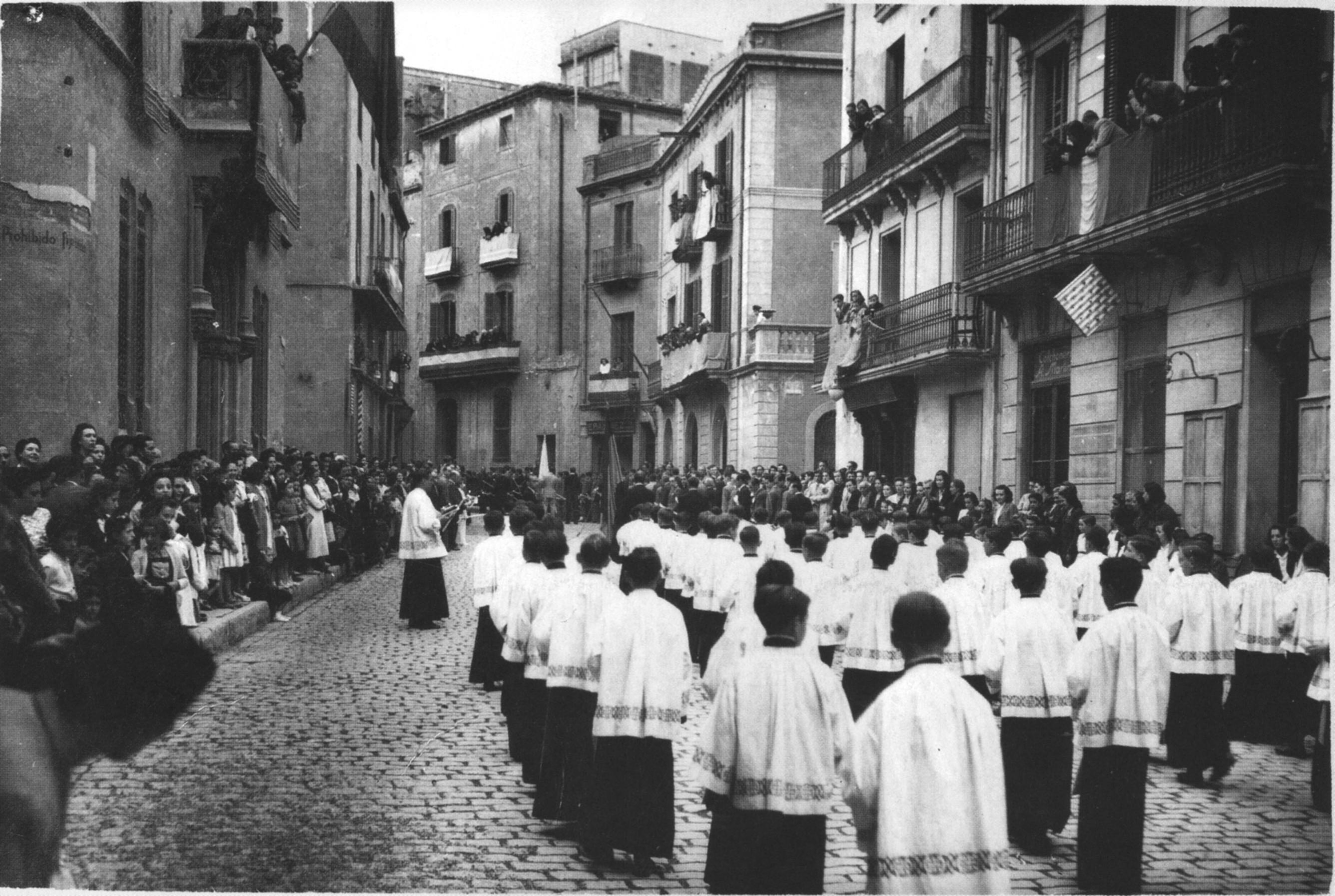 Corpus a la rutlla 1950