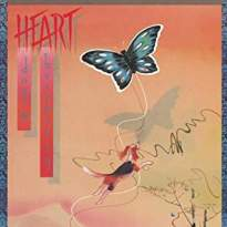 Heart/Dog and Butterfly
