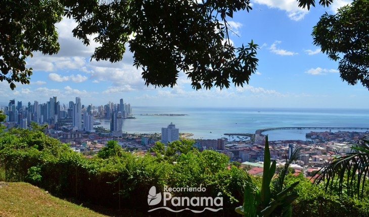 View of Panama City from Ancón Hill