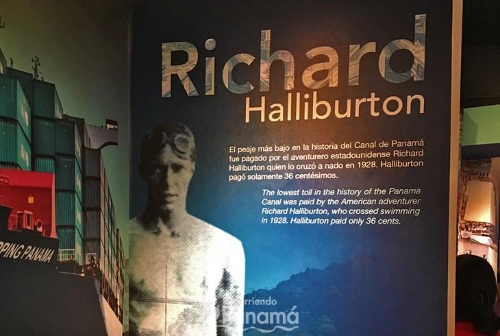 Richard Halliburton pago el peaje más bajo de la historia.