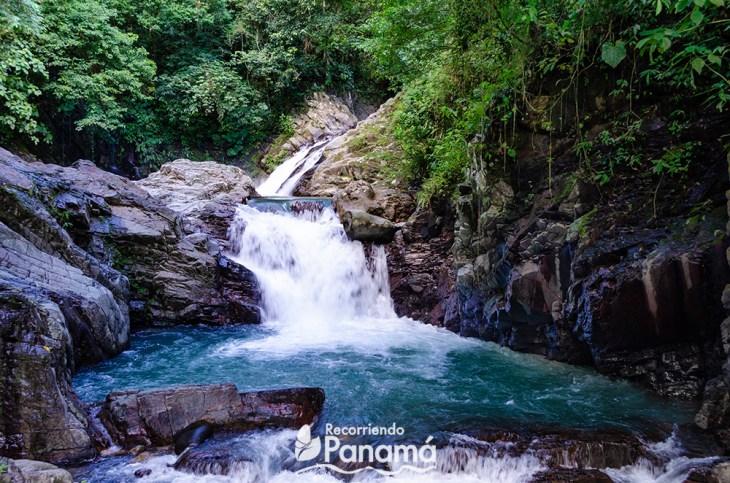 Pozo Azul waterfall