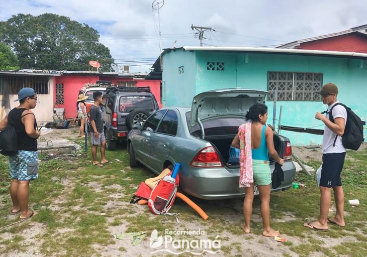 Estacionamiento en Playa Farallón. Reducir la Huella Ecológica