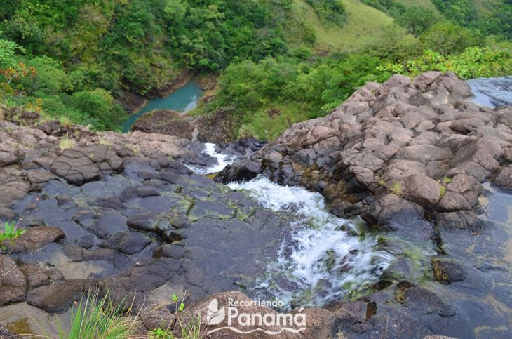 Las Damas waterfall, the second waterfall