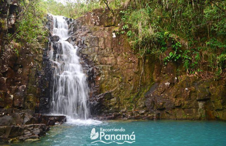 Las Celestes waterfall in veraguas province