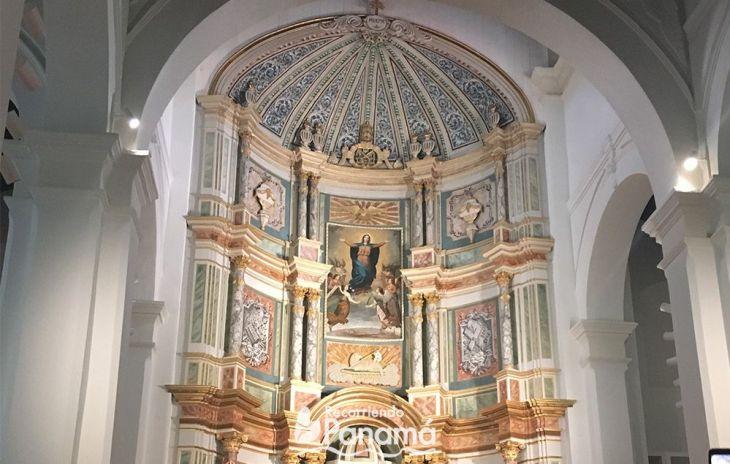 La Imagen de la Virgen tienen más de 200 años. Basílica Catedral Metropolitana Santa María La Antigua